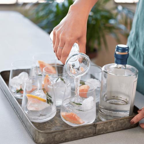 Een voorbeeld van de workshop gin tasting