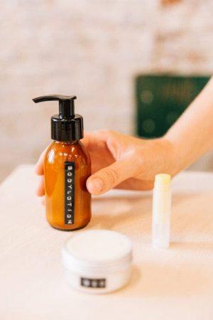 Een voorbeeld van de workshop skin & hair care